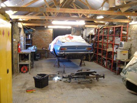 Интерьер гаражей фото